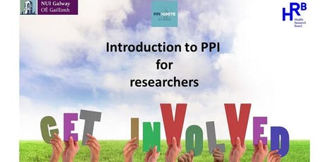 Study day: Introduction to PPI (public and patient involvement) for researchers tickets