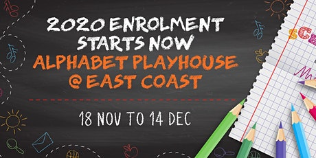 2020 Enrolment (Preschool) - Alphabet Playhouse tickets