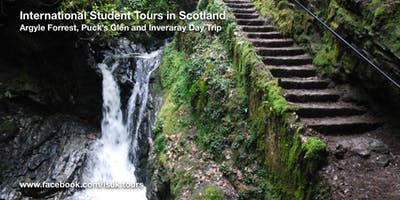 Argyll Forrest & Puck's Glen Day Tour Sun 16 Feb