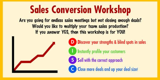 ActionCOACH Sales Conversion Workshop