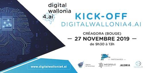 Kick-off DigitalWallonia4.ai