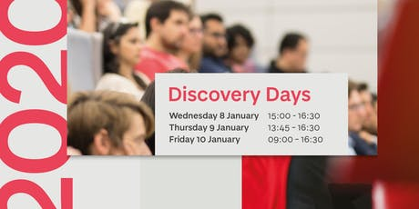 Discovery Days 2020 tickets