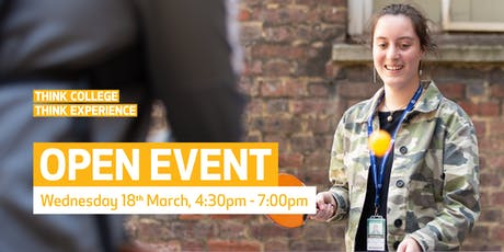 Waltham Forest College Open Event, March 2020 tickets