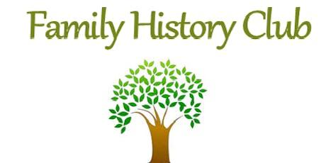 Charlton Kings Library - Family History Club tickets