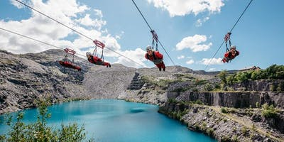 Ride the fastest zip line in the world for PKD Charity!