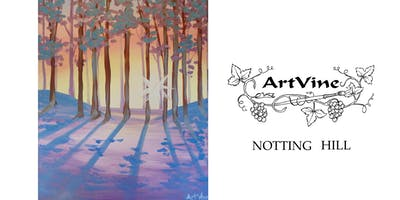 ArtVine, Sip and Paint in Notting Hill, 29th January 2020