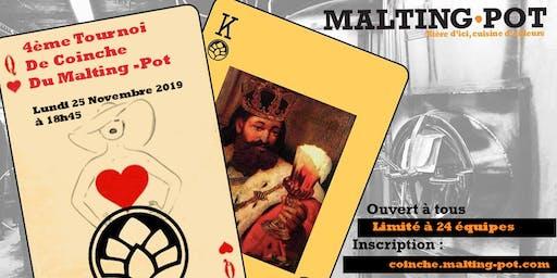 4ème tournoi de coinche du Malting-Pot