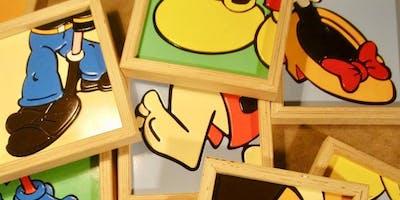 Inaugurazione della mostra Cartoon's Feet