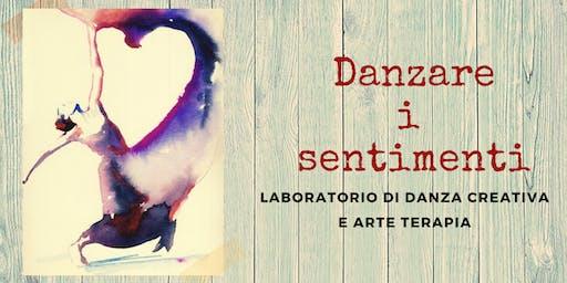 Laboratorio gratuito di danza creativa e arte terapia-DANZARE I SENTIMENTI