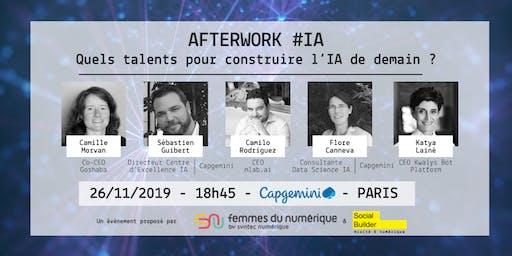 Afterwork : Quels talents pour construire l'IA de demain ?