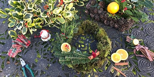 Christmas Wreath Making at Barne, Clonmel, Co. Tipperary