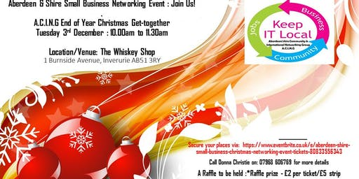 Aberdeen & Shire Small Business Christmas Networking Event