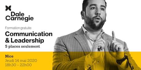 Communication & Leadership - Soirée de formation à Nice tickets