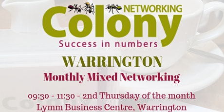 Colony Networking (Warrington) - 12 March 2020 tickets