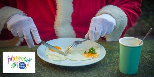 Santa's breakfast at the Playroom