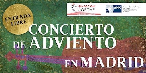 Concierto de Adviento en Madrid