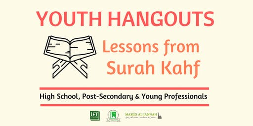Youth Hangouts: Lessons from Surah Kahf