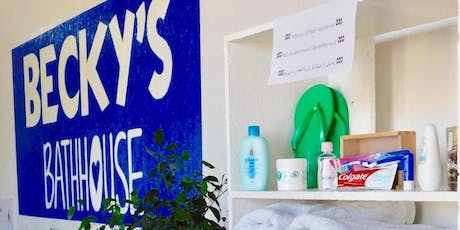 Working with Refugees at Becky's Bathhouse on Lesvos tickets