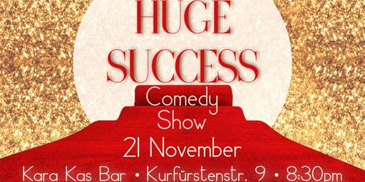 Huge Success Comedy Show with Pavlo V and Lena Stolby