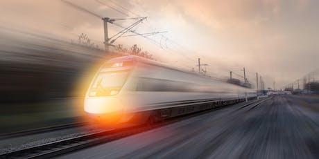 Symposium 'Lelylijn: verbinden met snelheid' d.d. 2 december 17-19 uur tickets
