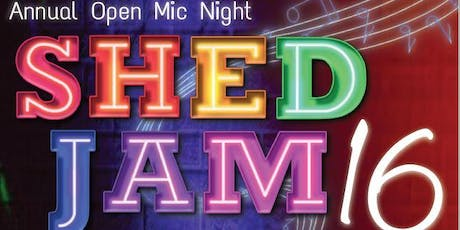 Shed Jam 16 tickets