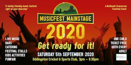 Musicfest Mainstage 2020 tickets