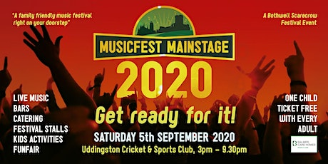 Musicfest Mainstage 2020 tickets