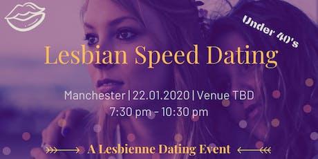 Lesbian Speed Dating - Manchester Under 40's tickets