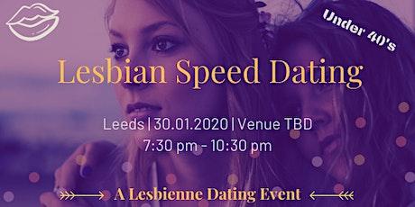 Lesbian Speed Dating - Leeds Under 40's tickets