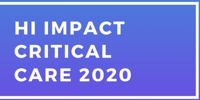 Hi Impact Critical Care 2020