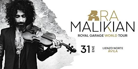 Ara Malikian en Ávila - Royal Garage World Tour entradas
