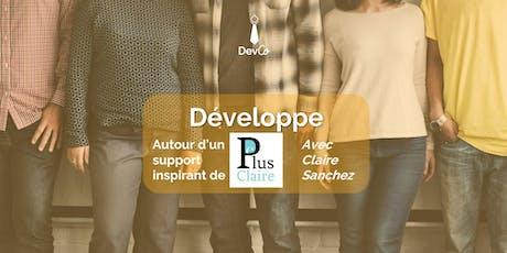 Développe – Je vide ma boite mail billets