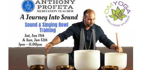 Sound Healing & Singing Bowl Training Workshop tickets