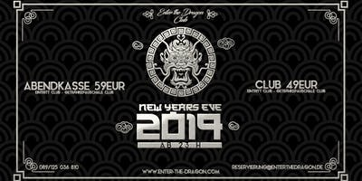 Enter The Dragon Club NYE 2019
