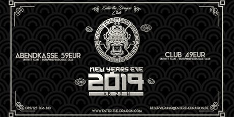 Enter The Dragon Club NYE 2019 Tickets