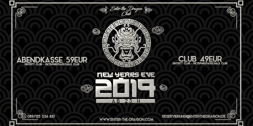 Enter The Dragon Club NYE 2019