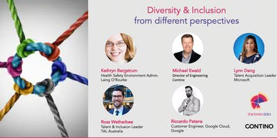 SheLovesData Sydney Meetup: Diversity & Inclusion from Different Perspectives