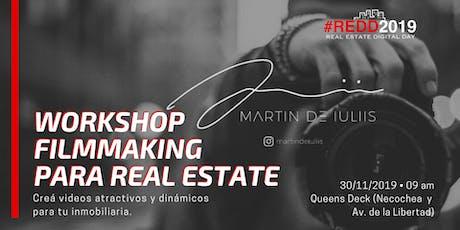 Workshop: Filmmaking para Real Estate entradas