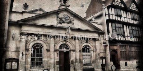 Tewkesbury Museum Ghost Hunt- 29/11/2019- £29 P/P tickets