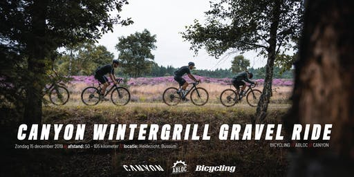 WinterGrill Gravel Ride Heidezicht Bussum