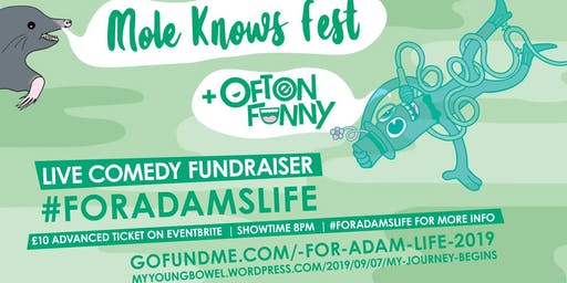 Often Funny - Live Comedy Fundraiser - For Adams Life