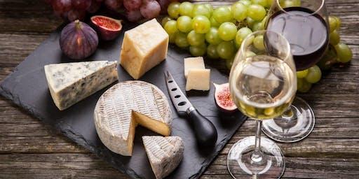Wine and Cheese Tasting/Pairing