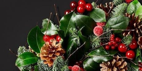 Christmas Wreath Workshop with Orchidya at Westfield, White City tickets