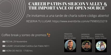 Career Paths in Silicon Valley & Importance of Open Source entradas