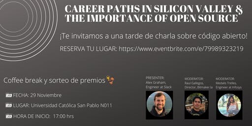 Career Paths in Silicon Valley & Importance of Open Source