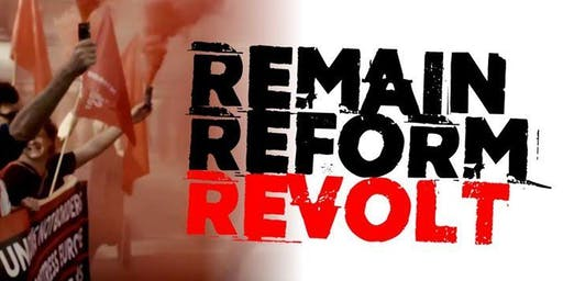 Remain Reform Revolt - Derby