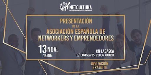 Presentación de la Asociación Española de Networkers y Emprendedores