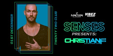 Function Presents   Senses #6 with Christian F tickets