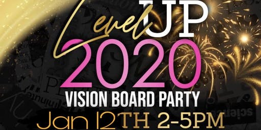 LEVEL UP 2020 VISION BOARD PARTY