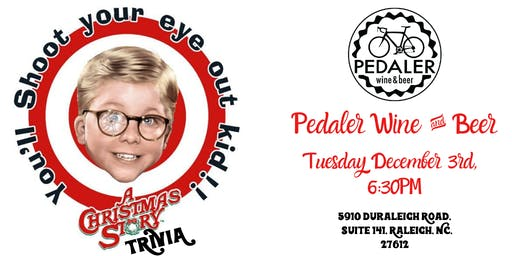 A Christmas Story Trivia at Pedaler Wine & Beer
